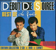 DEBUT DE SOIREE - BEST OF DE FOLIE - NUIT DE FOLIE - 2 CD + DVD 5 CLIP VIDEO
