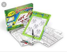 Crayola Centro De Actividad de borrado en seco Zany Jugar Juguete Niños Niños nuevas y creativas 3+