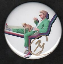 Autographed Greg Cipes Button! Collectible, 2 inch, One pin.
