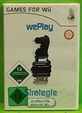 Games for Wii wePlay Strategie PC / Wii 20 Spiele per Server Neuware