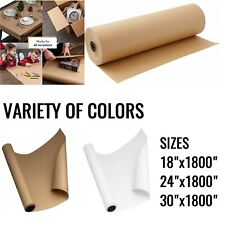 Kraft Paper Roll For Packing Gift Wrap Craft Postal Ship Dunnage Parcel Wrapping