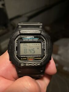 Vintage 1996 Casio G-Shock Quartz Watch DW5600E Guinness Record Holder 2017