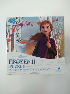 Disney Frozen 2 Anna and Olaf puzzle 48 piece jigsaw New