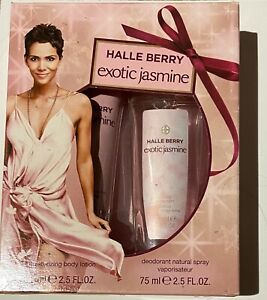 Halle Berry Exotic Jasmine Fragrance Gift Set