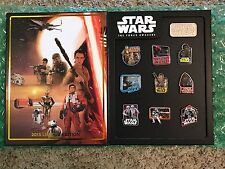 Disney DLR - Star Wars: The Force Awakens - Countdown 10 Pin Boxed LE Set MIB