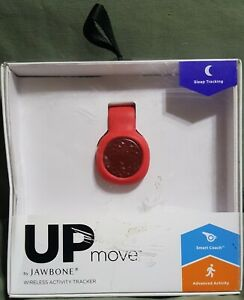 JL06 UP MOVE by Jawbone Wireless Activity Tracker RED