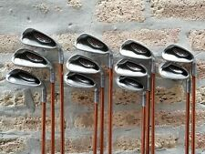 Ping G10 Maroon Dot Irons Set w/ Regular Flex Graphite Shafts 3-9 PW UW SW LW
