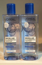 2 PACK L'OREAL PARIS MICELLAR CLEANSING WATER  COMPLETE CLEANSER ALL SKIN TYPES