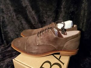 NEW IN BOX~Banana Republic Mens Dress Shoes Suede Brown sz 8.5~RETAIL $99.99