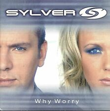 Sylver –  Why Worry      cd single in cardboard