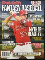 Mike Trout Street & Smith's Magazine  *FANTASY BASEBALL 2019 - - NEW Mint