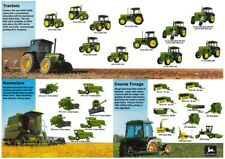 JOHN DEERE TRACTOR COLLECTION THE RANGE STABLE SALES BROCHURE/POSTER ADVERT A3