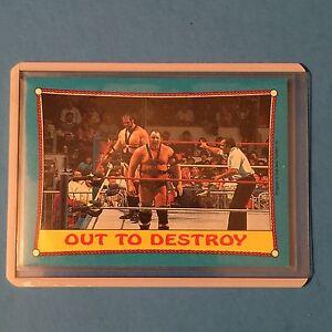 DEMOLITION  1987 O-Pee-Chee WWF #40  NM/MT  Pack Fresh!