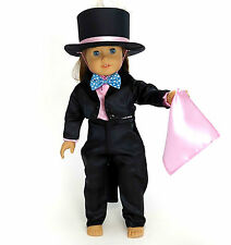 """AFW MAGICIAN WITH RABBIT IN HAT OUTFIT for 18"""" Dolls American Girl Costume NEW"""