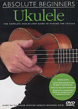 Learn To Play The Ukulele absolute Anfänger DVD Buch Lektion TUTOR Chords Songs