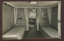 Shipping French Lines ANTILLES Suite de Luxe Louisiane Bedroom RP PPC