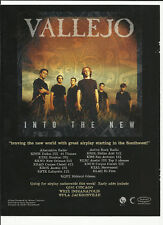Vallejo Into the New Trade Ad Poster for 1999 Cd Mint