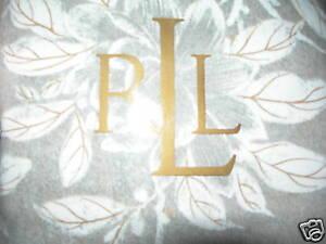 NEW RALPH LAUREN ODEON FLORAL TWO KING PILLOW SHAMS