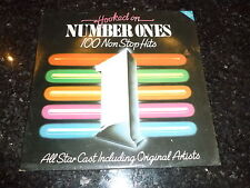 HOOKED ON NUMBER ONES (100 non stop hits) - 1984 UK 100-track Double vinyl LP