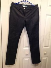 Marciano Women Black Soft Leather Pants Size 6