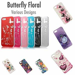 iPhone 5 5s iPhone SE butterfly floral bling case