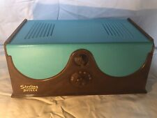 Sterling Deluxe Radio For Parts, Restore, or Decor VERY RARE AM Tube Radio
