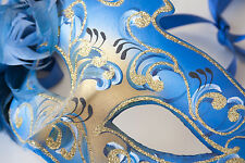 STUNNING MASQUERADE BALL PARTY MASK CANVAS PICTURE #45 WALL HANGING ART A1