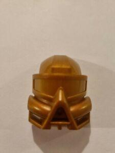 Lego Bionicle Kaukau Mask 32571 Metalic Gold Colour Variant Kanohi Rare
