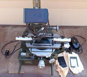 Zeiss Mikroskop Werkzeugmikroskop Messmikroskop Kreuztisch Messtisch Rundlauf