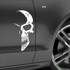 1x Aufkleber, Sticker,Totenkopf, Skull, half skull, shocker, fun, decale, 30 cm