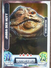 Force Attax Star Wars Serie 2 (2013, grün), Jabba der Hutt (203), Star-Karten
