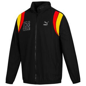 PUMA Alife Herren Sport Fitness Windbreaker Jacke 570465-01 Gr. S schwarz neu