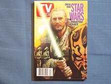 TV GUIDE STAR WARS PHANTOM MENACE MAY 15 1999 #2 QUI-GON JIN NATALIE PORTMAN GEO