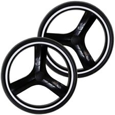 Puncture Free Set Of Rear Wheels To Fit Uberchild EVO 3in1 Travel System