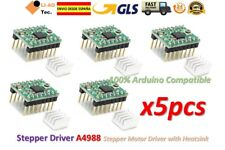 5pcs Reprap Stepper Driver A4988 Stepper Motor Driver with Heatsink 3D printer