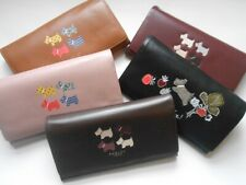 RADLEY LEATHER LARGE FLAP OVER MATINEE PURSE RRP £89 TO CHOOSE FROM