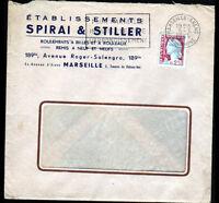 """MARSEILLE (13) USINE de PALIERS & ROULEMENTS à BILLES """"SPIRAI & STILLER"""" en 1964"""