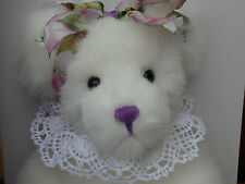 Annette Funicello Lavender Bouquet Collectable Bear! Mint! Nib! #807 of 2500!