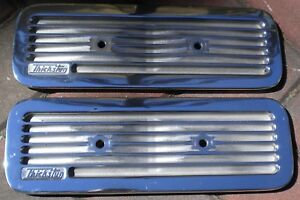 Mopar Polished Thickstun Aluminum Side Covers Chrysler DeSoto Flathead 6 Hot Rod