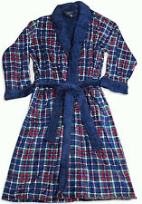 State O Maine Mens Cozy Soft Plush Plaid Robe NWT One Size Fits Most