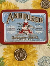Anheuser-Busch Beer Vintage Playing Cards In Collector'S Tin, (1991)
