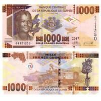 Pick New Guinea / Guinee 1000 Francs 2017  Unc. / 919564vvv