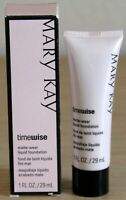 Mary Kay Timewise Matte Wear Liquid Foundation YOU CHOOSE SHADE New FREE SHIP
