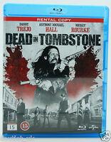 Dead in Tombstone BLU-RAY Película Región B Nuevo Danny Trejo