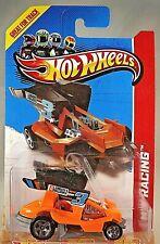 2013 Hot Wheels #127 HW Racing-Track Aces DIRTY OUTLAW Orange w/5 Spoke Wheels