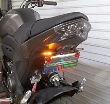 Kawasaki Z125 Pro SS Fender Eliminator Combo Kit - Front & Rear LED Turn Signals