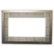 Marco ventilación para encastre microondas color níquel. Accesorios para Elect