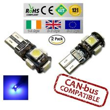 2x CanBus LED No Error 10000k HID Blue T10 w5w 501 194 Parking Bulbs Side Lights