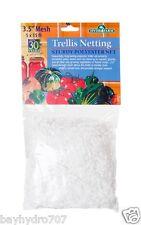 "Trellis Netting Polyester Net 3.5"" Mesh 5' x 15' Trellis Plant Support BAY HYDRO"