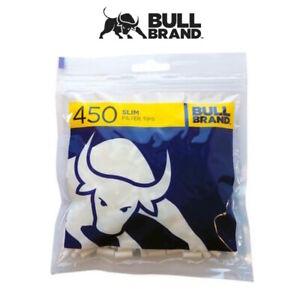 1 2 4 10 20 BULL BRAND Slim Filter Spitzen 450 IN Tasche Wiederverschließbare (
